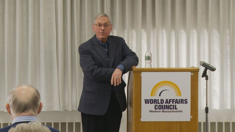 "Dr. Michael T. Klare: ""All Hell Breaking Loose: The Pentagon's Perspective on Climate Change""."